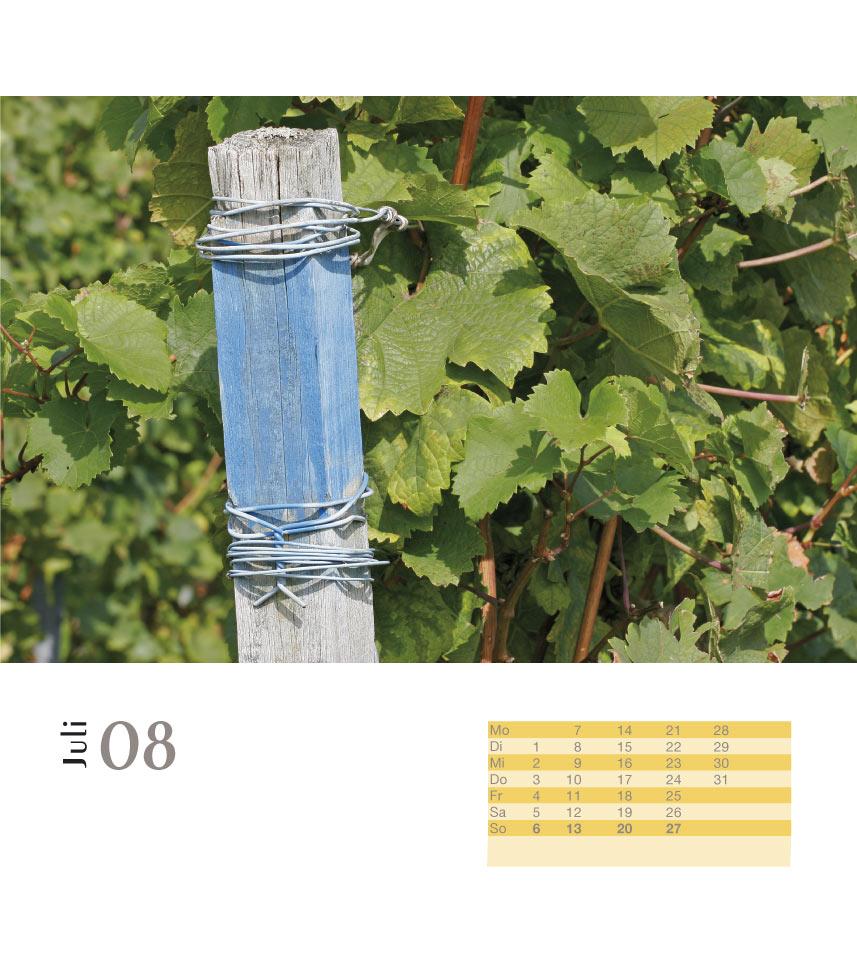 Weinkalender 2008 Juli