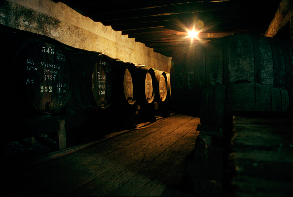 Weinlager von Arturo Barros Sousa in Funchal