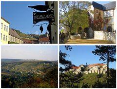 Weinland Saale-Unstrut  mit Burg Neuenburg