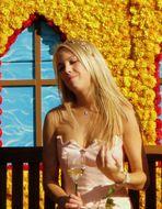 Weinprinzessin Melanie Kaub, Begleiterin der Pfälzer Weinkönigin 2007/08