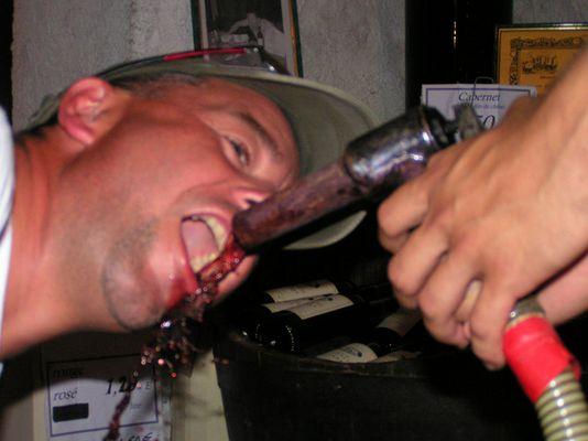 Weinverkostung mal anders