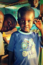 Weisenkind aus Kenia