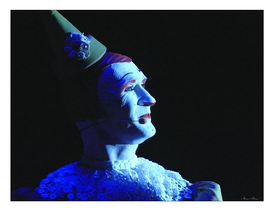 Weißclown Gensi, Circus Roncalli