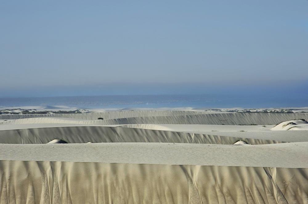 Weisse Duenen - white dunes