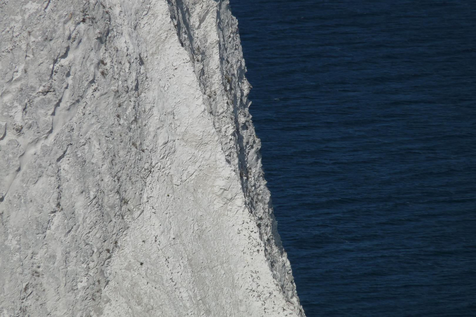 weisse Kreide und blaue Ostsee :-)