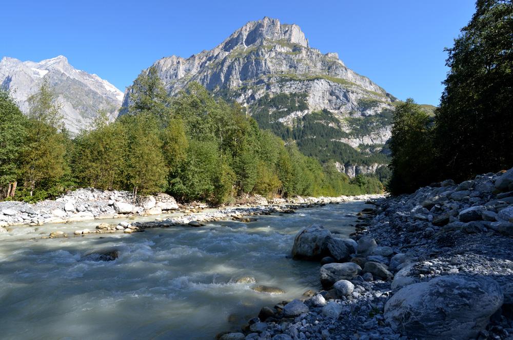 Weisse Lütschine bei Grindelwald
