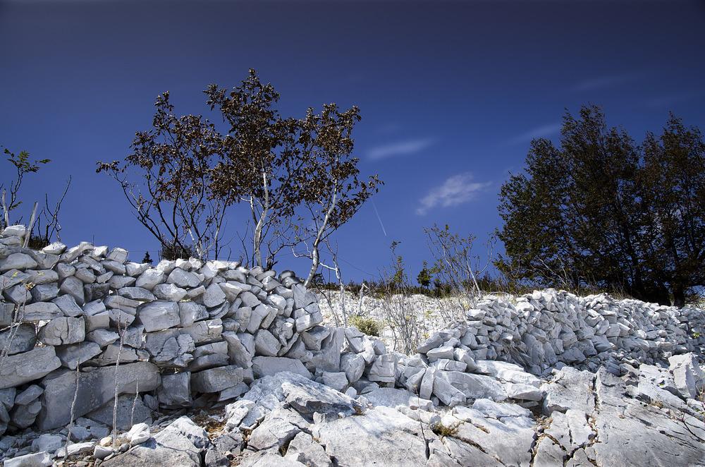 Weisse Mauer