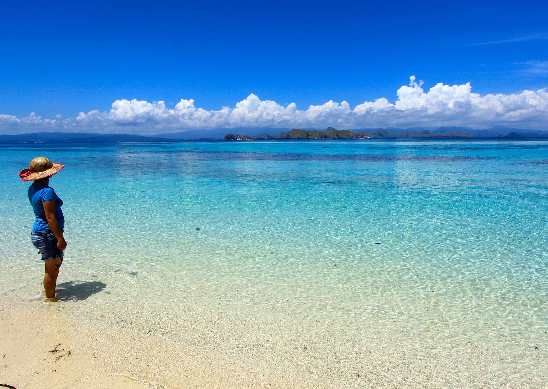 Weisse Straende und Glass Klarem Wasser - Insel Bidadari Indonesien