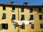 Weiße Wäsche in Luca
