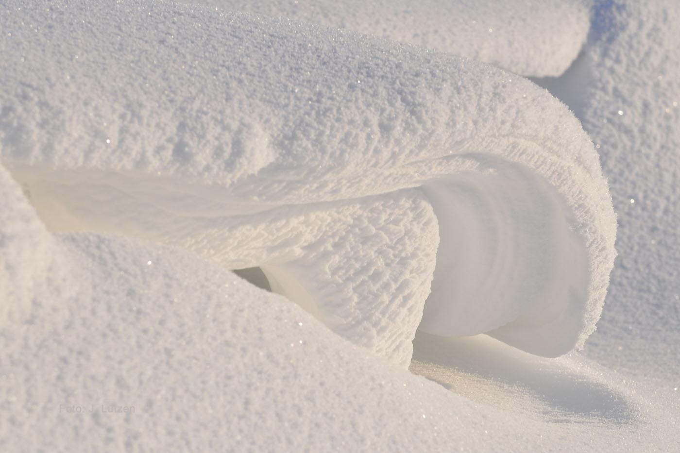 weiße Welle