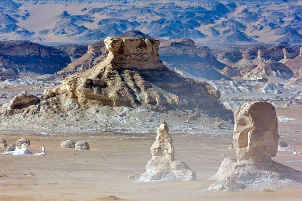 Weisse Wüste 2008