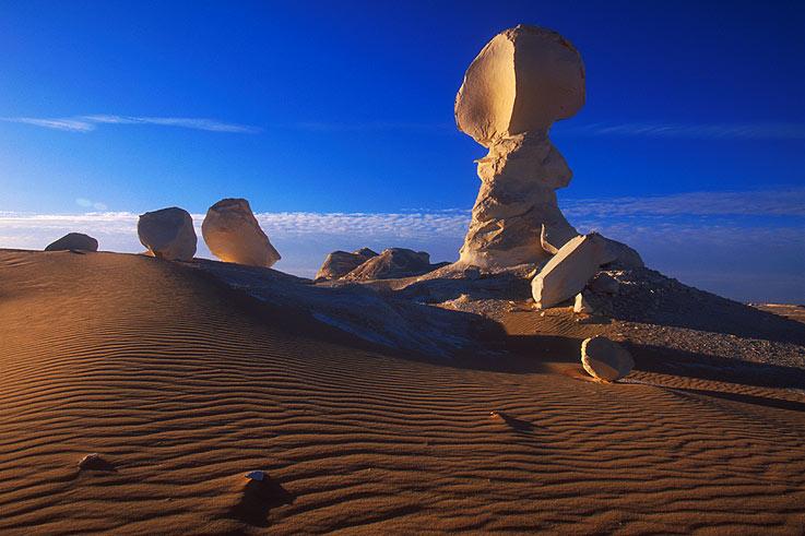 Weisse Wüste - globe