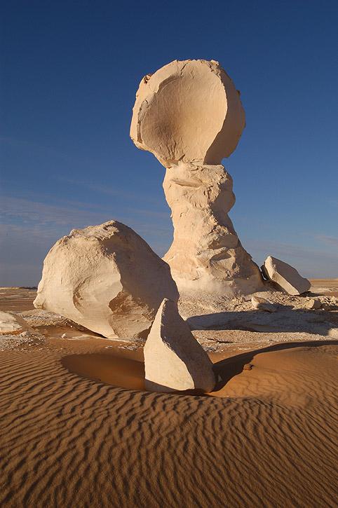 Weisse Wüste - Pilzfels