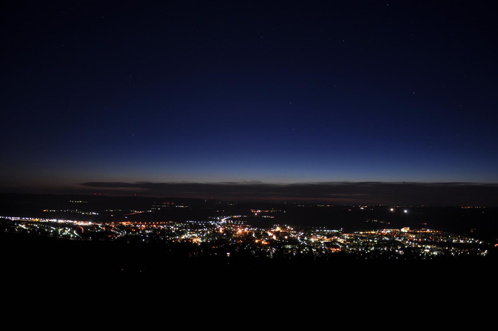 Weißenburg bei Nacht