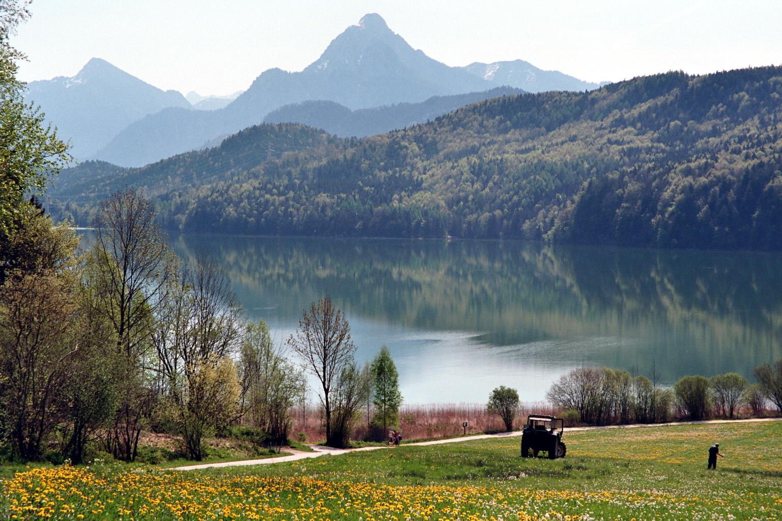 Weißensee in Allgäu 2011