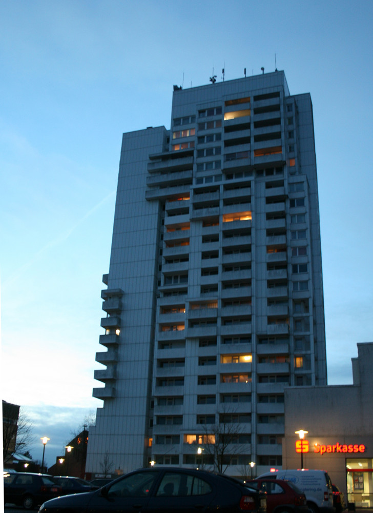 Kiel Architektur weißer riese in kiel mettenhof foto bild architektur