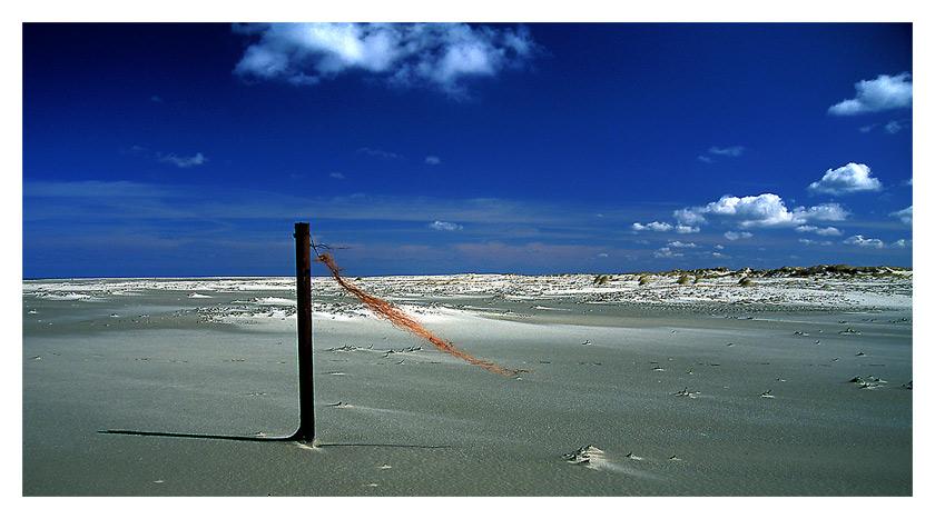 Weisser Strand ...