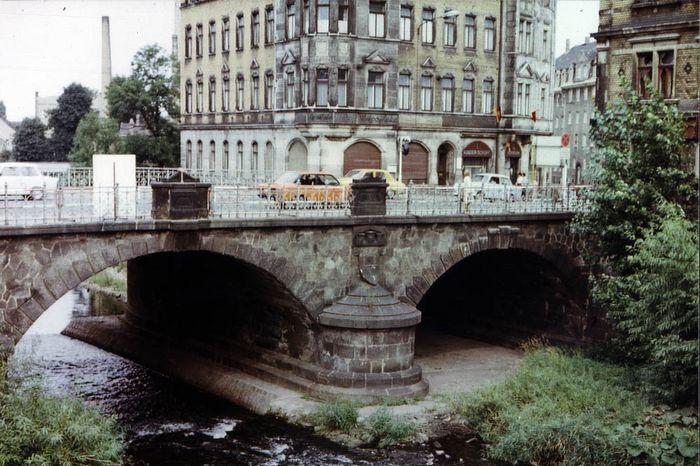 Weisseritzbrücke Löbtau im Jahre 1976