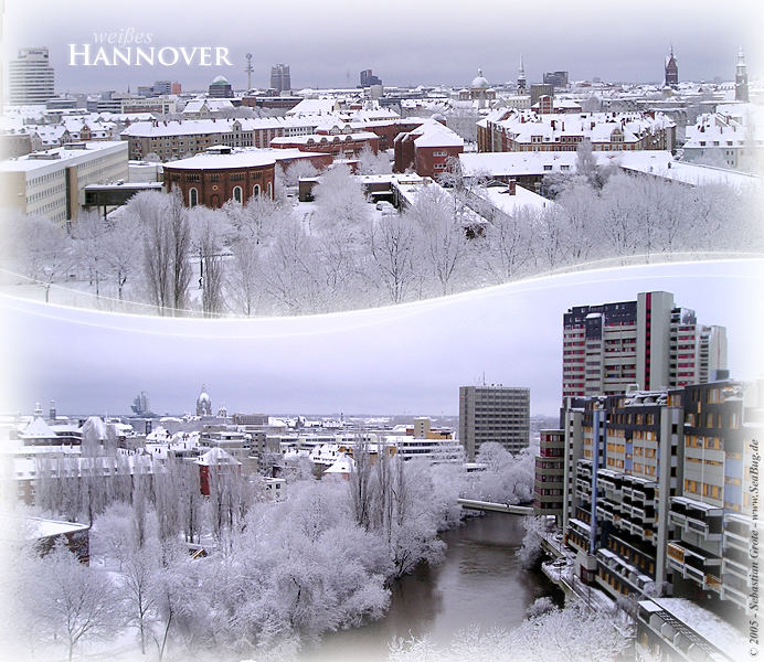 weißes Hannover...