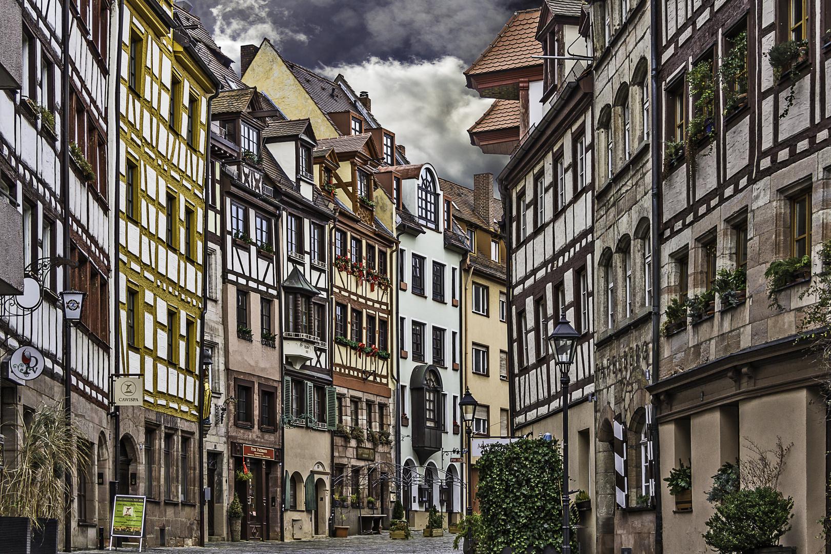 Weissgerbergasse in Nürnberg