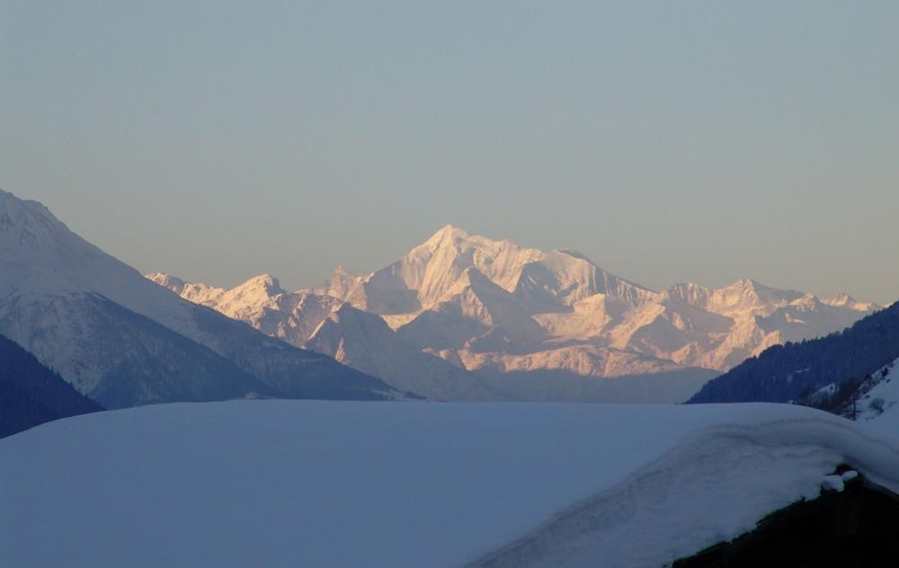 Weißhorn im Wallis
