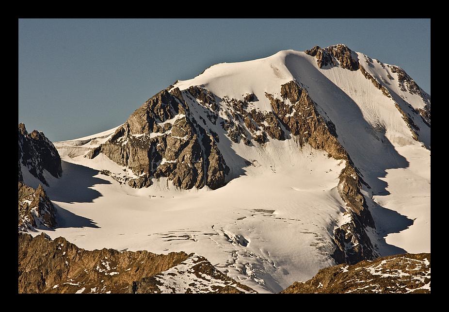 Weißkugel - 3739m vom Similaun Gletscher aus gesehen