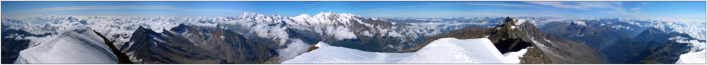 WEISSMIES Gipfelpano 360°