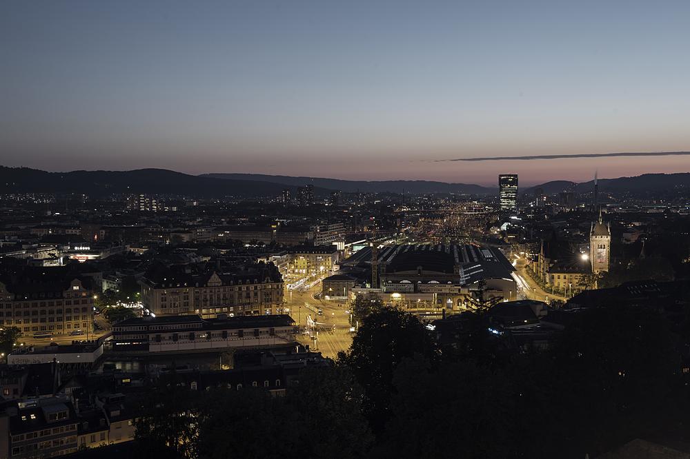 Weit über Zürich...
