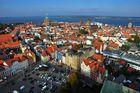 Weitblick über Stralsund