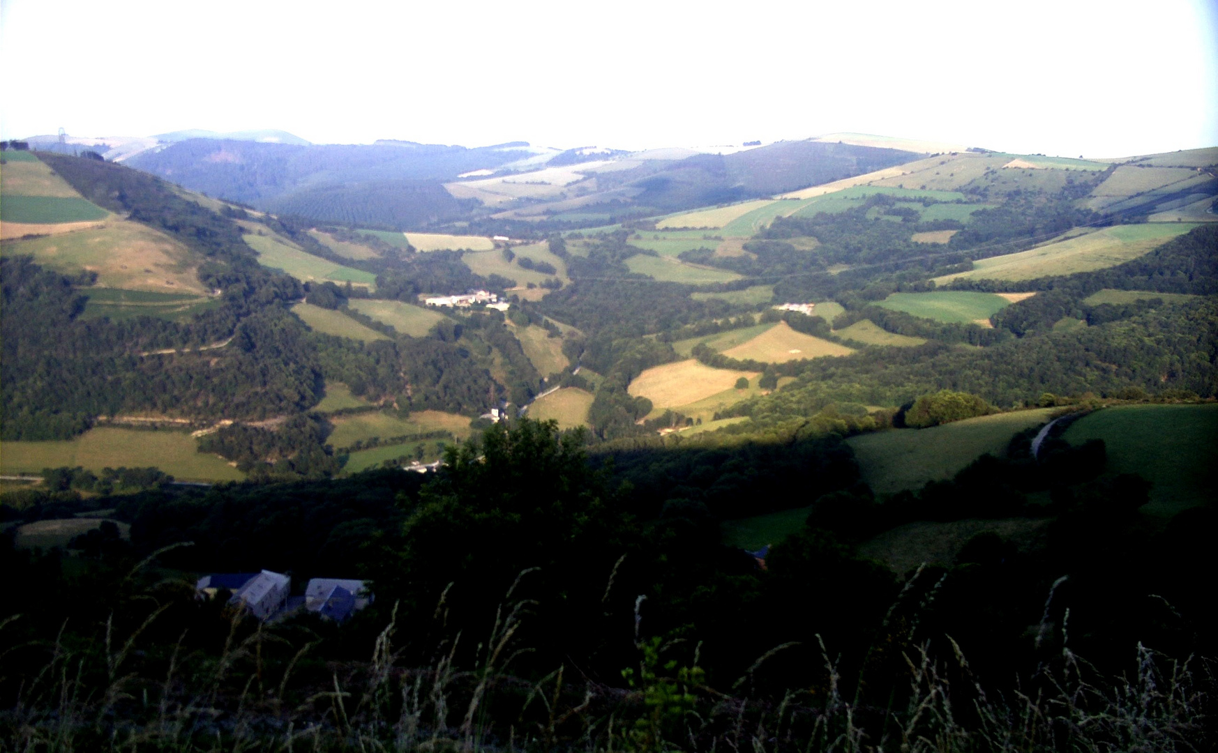 Weite und breite Landschaft...