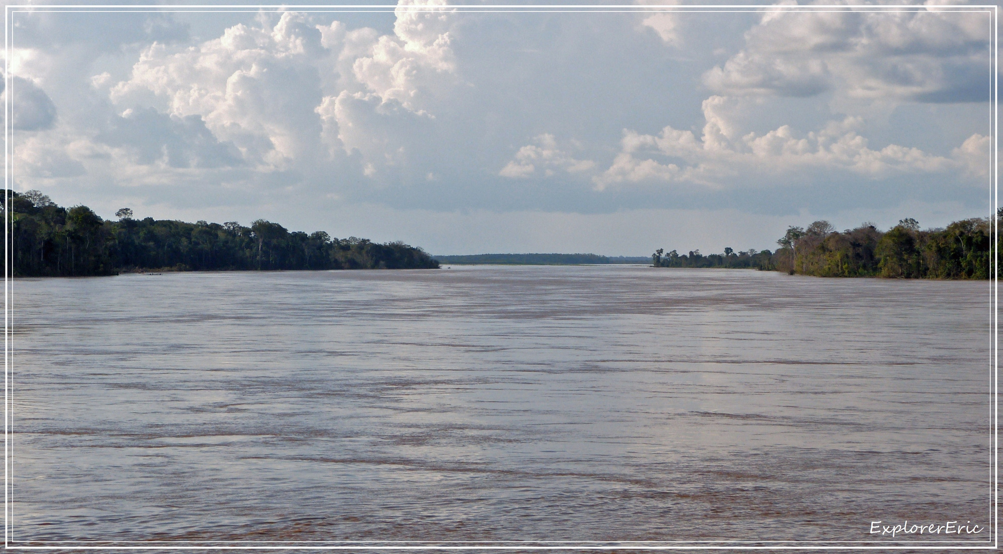 weiter den Amazonas abwärts.................