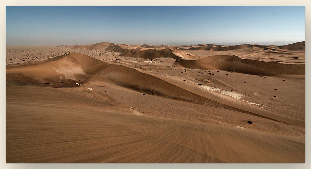 Weites Land - Dünen bei Swakopmund.