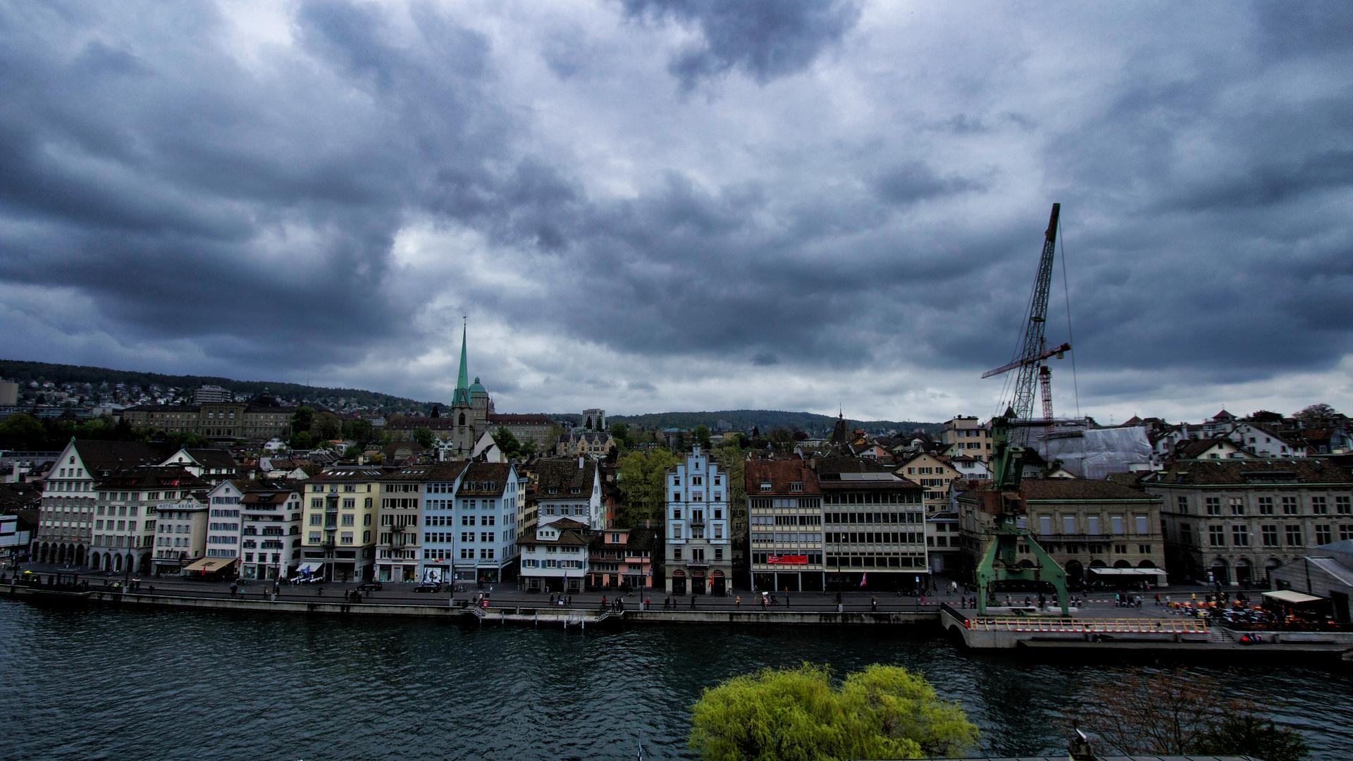 Weitsicht über Zürich...