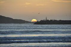 Welch Sonnenuntergang