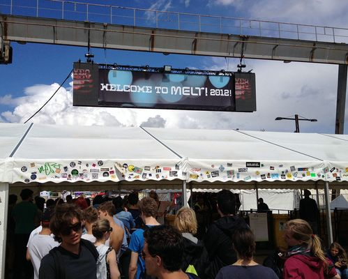 WELCOME TO MELT! 2012!