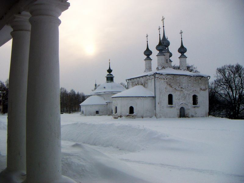 Welcome to Suzdal... (ca. 400km von der Hauptstadt entfernt)
