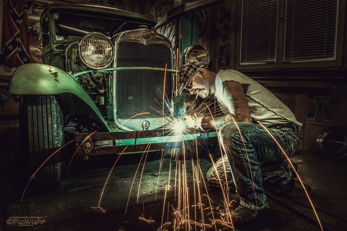 Welding the Hotrod