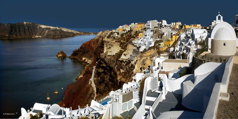 Well, there is colour in Santorini 3
