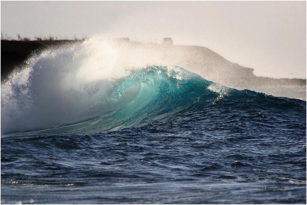 Welle im Westen von Teneriffa