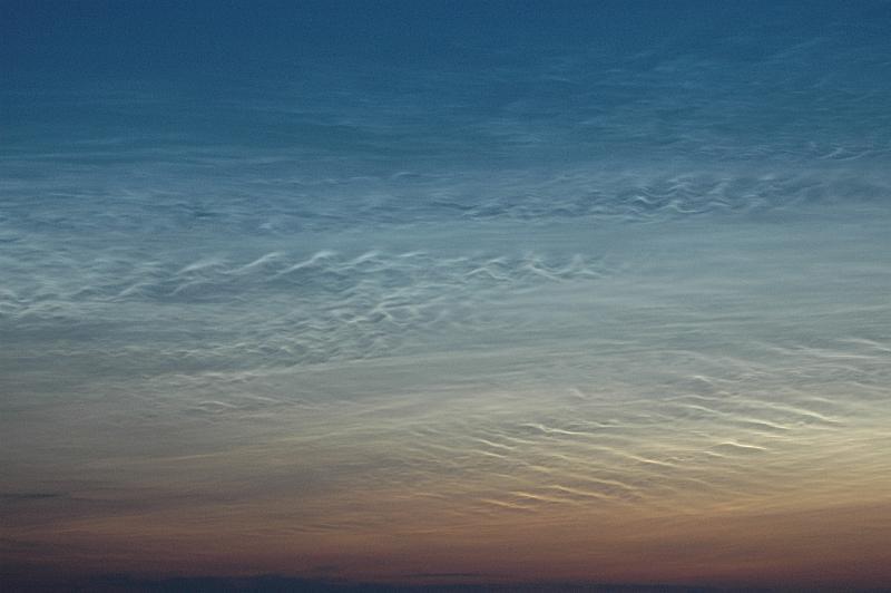 Wellen am Himmel ...