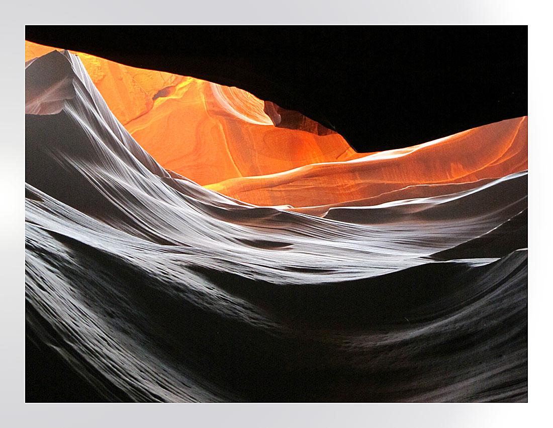 Wellen im Antelope Canyon