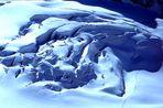Wellen im Eis