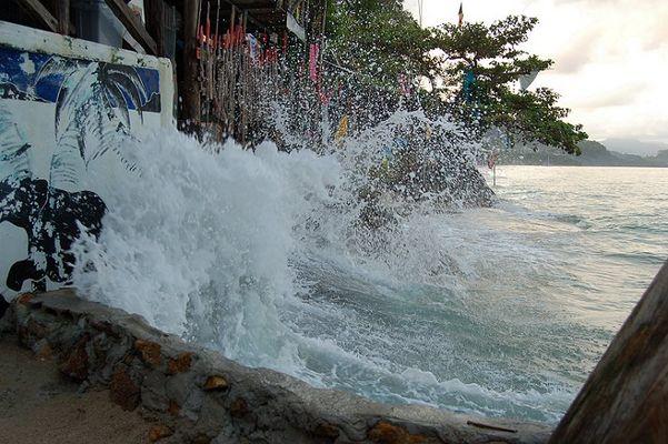 Wellen in Thailand :-)