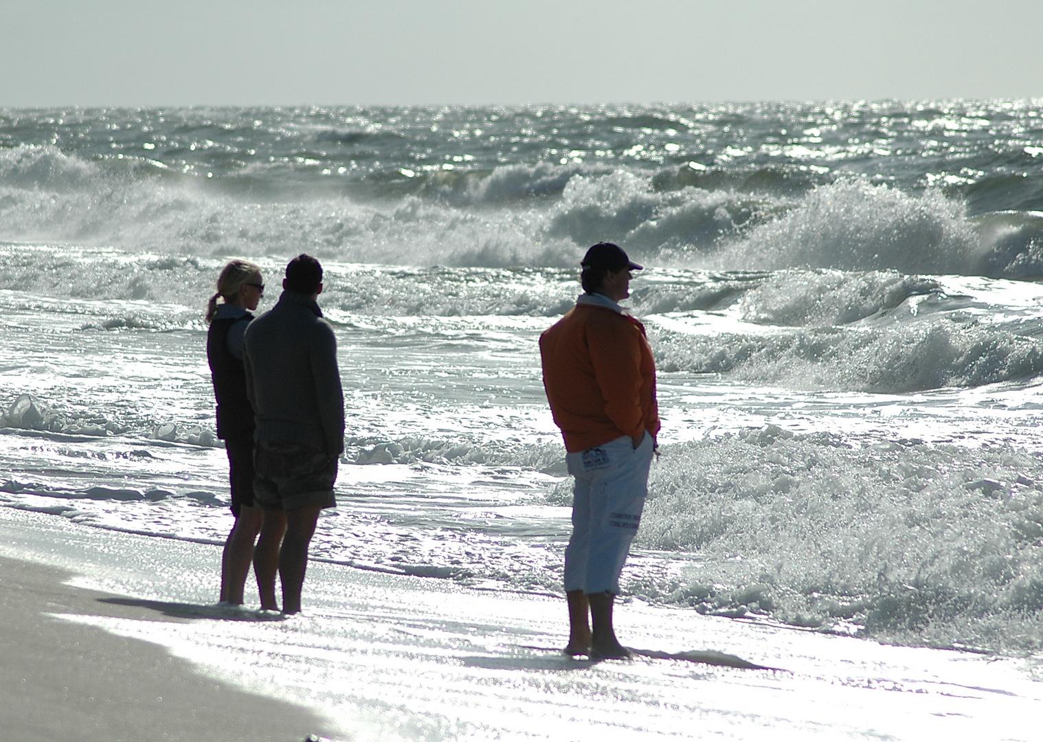 Wellen nach dem Sturm