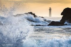 Wellen vor Ouessant, Bretagne