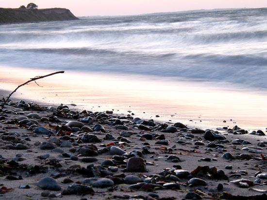 Wellen wie Watte
