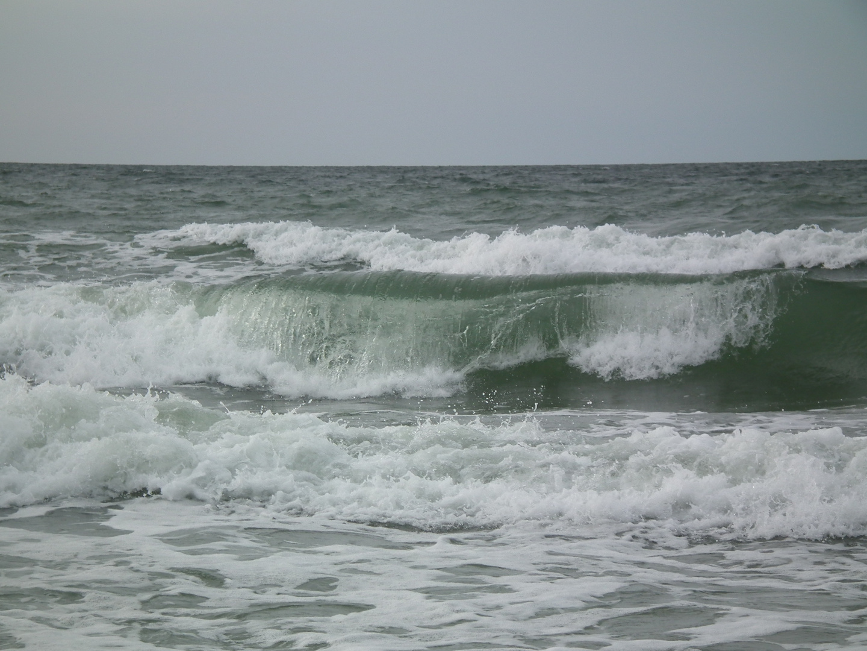 Wellengang an der Ostsse