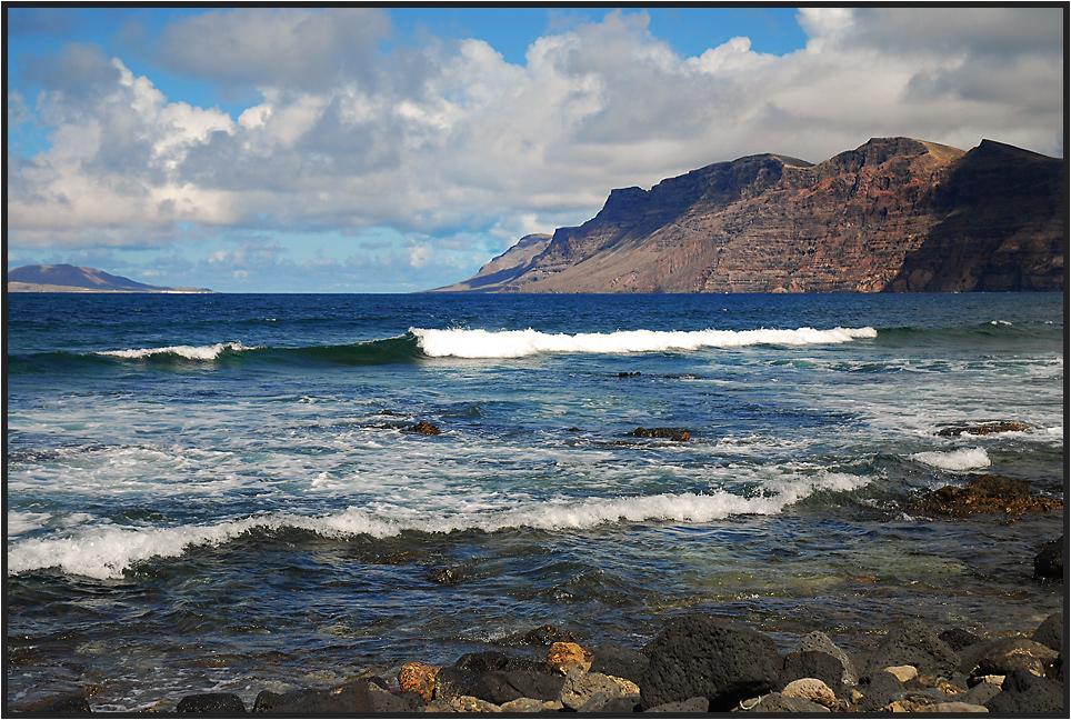 Wellenrauschen auf Lanzarote