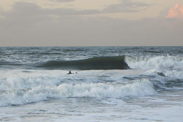 Wellenreiten in Ostsee Nordsee