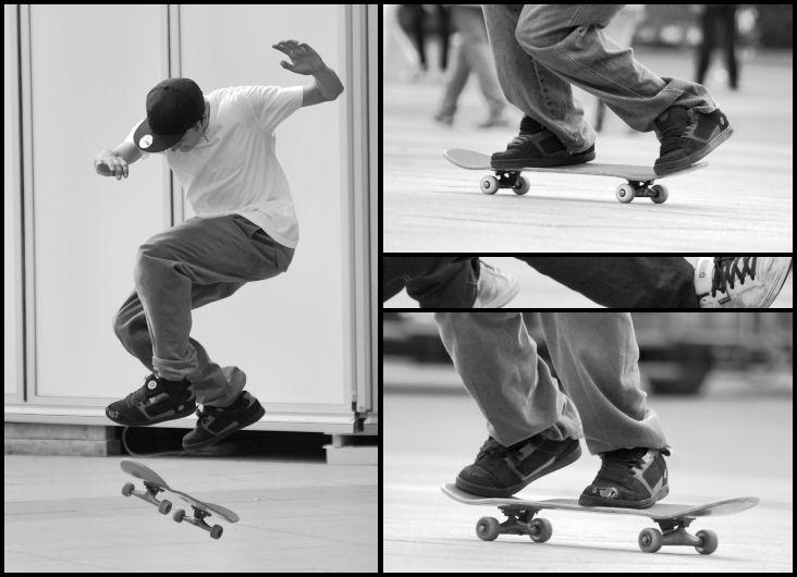 Welt des Skateboards